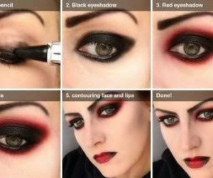 Halloween, makeup, and tutorial image