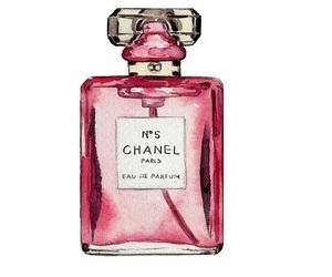chanel, perfume, and pink image