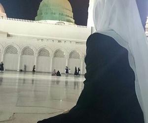 hijab, muslima, and إسْلام image
