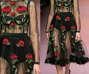 dolce gabbana, fashion, and model image