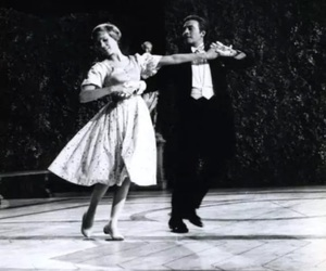 black and white, dance, and the sound of music image