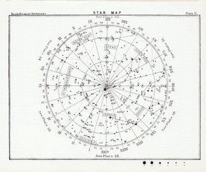 astrology, stars, and sky image