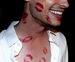 kiss, boy, and smile image