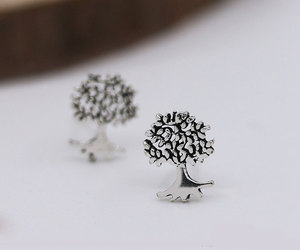 earrings, etsy, and studs image