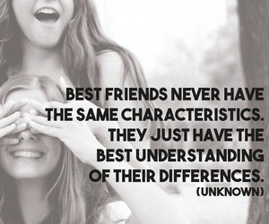 friendship, smile, and best friend image