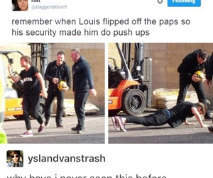 push-ups, louis tomlinson, and textpost image