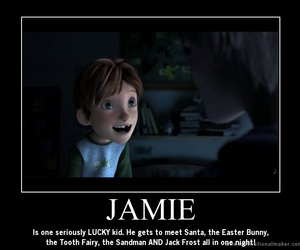 jack frost, rise of the guardians, and jamie image