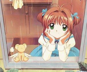 sakura, anime, and sakura card captor image