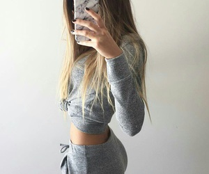 fashion, fitness, and hair image