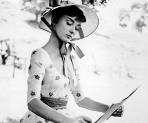 50's, audrey, and diva image