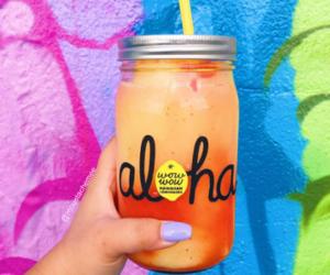 drink, summer, and Aloha image