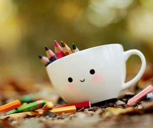 cute, cup, and colors image