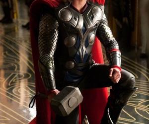 thor, chris hemsworth, and Marvel image