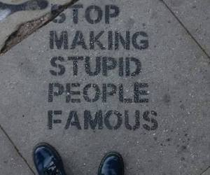 grunge, famous, and stop image