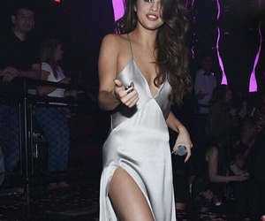 dress, outfit, and selena gomez image