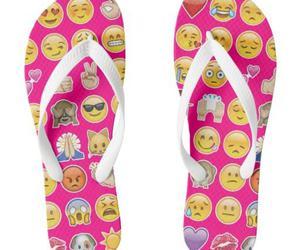 summer, flip-flop, and pink image