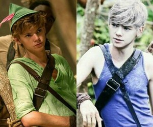 books, newt, and thomas sangster image