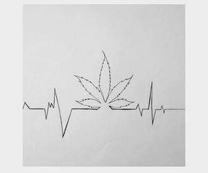 weed, drugs, and marijuana image