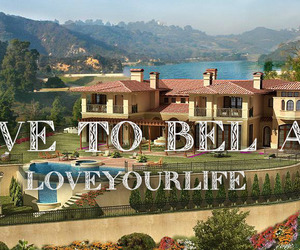bel air, mansion, and rich and famous image