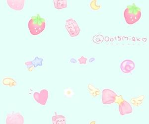 background, kawaii, and mint image