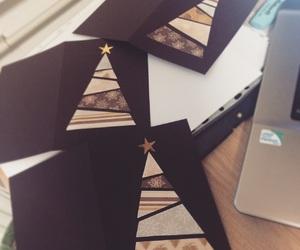 Christmas time, christmas cards, and happytime image