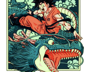 dragon ball, dragon ball z, and son goku image