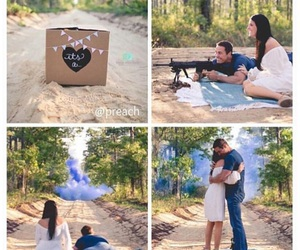 baby gender reveal and annaephotography image