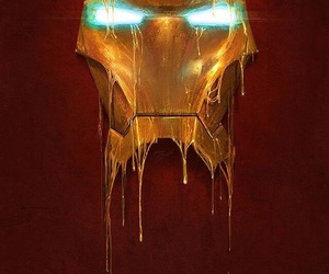 iron man, Marvel, and ironman image