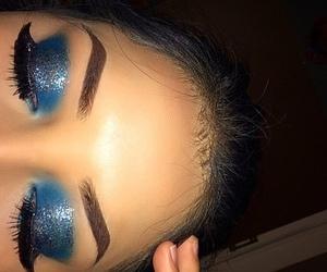 blue, girls, and glitter image