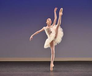ballerina, dance, and cute image