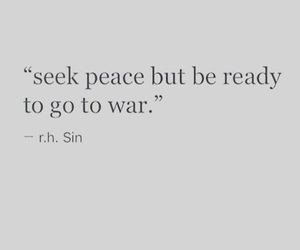 quotes, peace, and war image