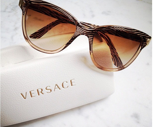 Versace, sunglasses, and accessories image