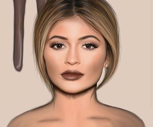 kylie jenner and drawing image