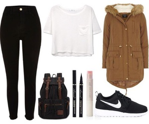 nike and Polyvore image