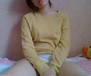 alternative, sad, and amarillo image