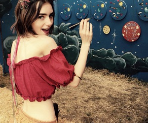 lily collins, actress, and pretty image
