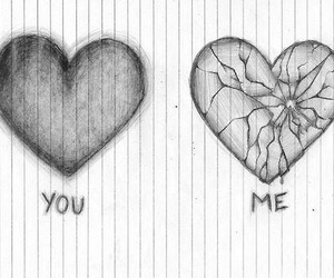heart, you, and me image