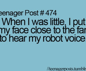 teenager post, fan, and funny image