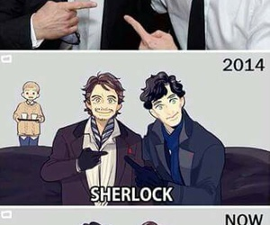 iron man, Marvel, and sherlock image