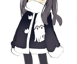anime, cold, and cute image