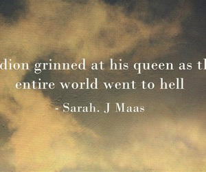 celaena, throne of glass, and sarah j maas image