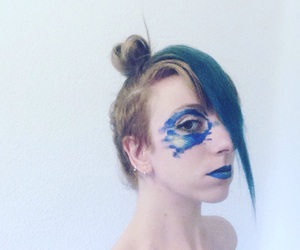 art, bluehair, and spring image
