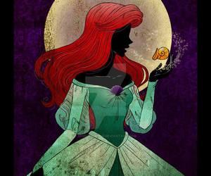 disney, ariel, and princess image
