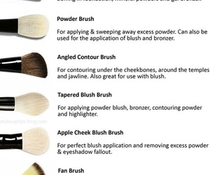 Brushes, tips, and makeup image