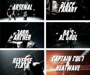 arrow, Black Canary, and john barrowman image