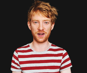 ginger, domhnall gleeson, and bill weasley image