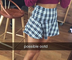 ariana grande, snapchat, and ootd image