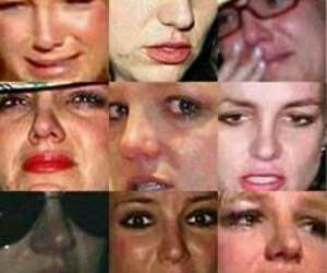britney spears, bitch, and crying image