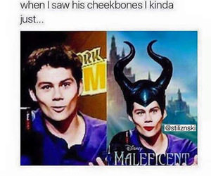 dylan o'brien, teen wolf, and maleficent image