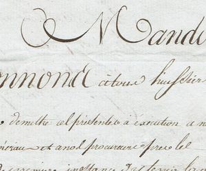 caligraphy, elegant, and france image